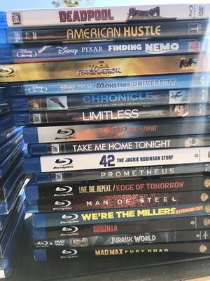 Blu Ray movies for Sale in Victorville, CA