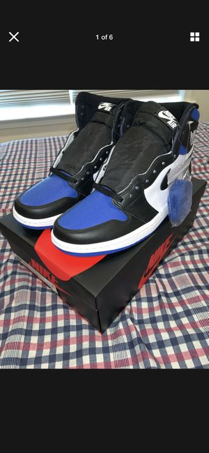 "Jordan 1 ""Royal toe"" SZ 8.5 for Sale in San Leandro, CA"