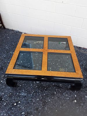 Glass Beveled Coffee Table for Sale in Millsboro, DE