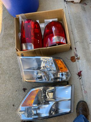 2011 ram 1500 headlights/ tail lights for Sale in Havre de Grace, MD