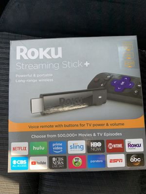 Roku Streaming Stick+ Plus HD 4K TV transform to Smart WiFi for Sale in TX, US