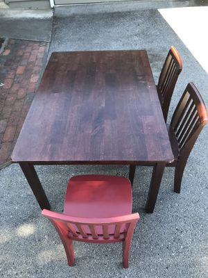 Pottery Barn Kids Table & Chairs for Sale in Redwood City, CA