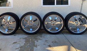 Wheels/Rims/Tires - $550 OBO(Elk Grove Sacramento) for Sale in Elk Grove, CA