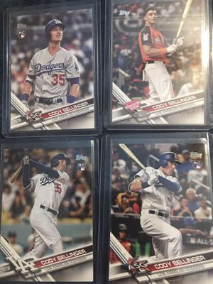 CODY BELLINGER ROOKIE CARDS for Sale in Benton City, WA