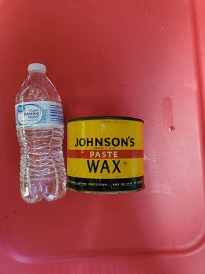 1940-50s era Johnson's paste wax for Sale in Bogue Chitto, MS