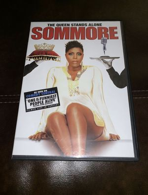 The Queen Stands Alone Sommore DVD for Sale in West Valley City, UT