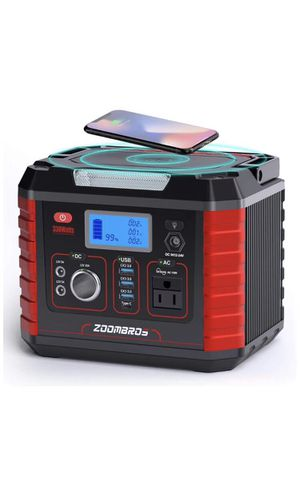 330W Portable Power Station Generator, 289WH CPAP Battery Backup Power Supply with 110V AC Outlet, 12V/10A Car Port, 3 QC 3.0, Type C, SOS Flashlight for Sale in Corona, CA