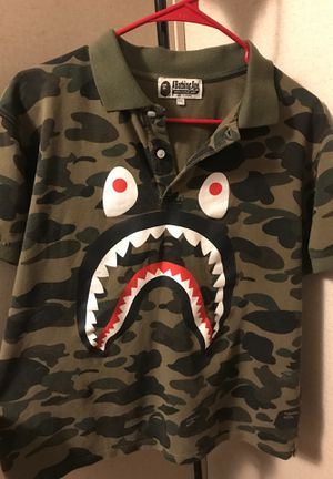 BAPE polo shirt for Sale in Red Oak, TX