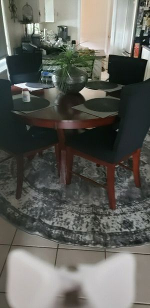 Solid wood dining set for Sale in Rancho Cordova, CA