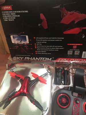 Drone. New in box never used. SYMA d1650wh for Sale in Boca Raton, FL