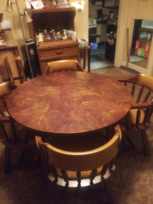 Table and 4 chairs for Sale in Wichita, KS