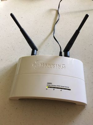Wireless Router / Range Booster extender 300N WiFi Internet - Gateway Routers Hub - Ethernet Networking - Network DSL Cable for Sale in Miramar, FL