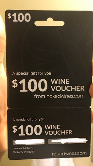 Wine voucher for Sale in Herndon, VA