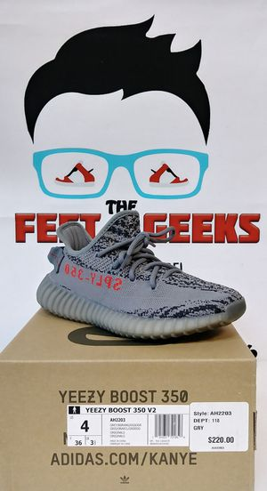 ADIDAS YEEZY BOOST 350 BELUGA 2.0 SIZE 4 EXCELLENT USED CONDITION $300 for Sale in Cleveland, OH