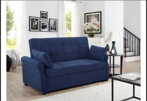 Serta Haiden Queen Sofa Bed, Navy Blue, BRAND NEW IN BOX !!!! for Sale in Mount Laurel Township, NJ