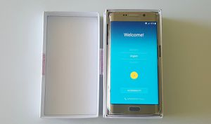 Unlocked Samsung Galaxy S6 Edge Gold for Sale in Orlando, FL