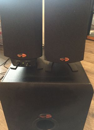 Klipsh Computer Speakers with Subwoofer for Sale in San Diego, CA