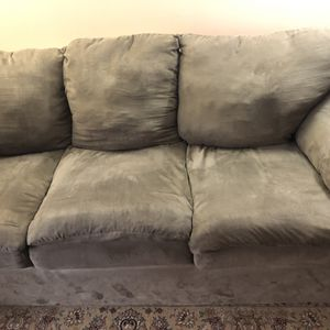 Great Condition Sued Sofa Bed And Couch for Sale in Annandale, VA