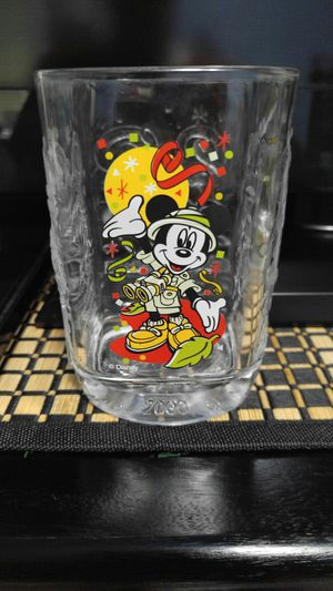 Collectible Walt Disney Mickey Mouse Millenium 2000 Glass McDonald's for Sale in Austin, TX