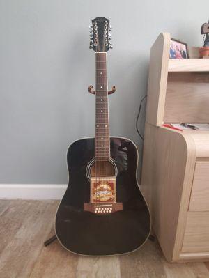 Guitarra acústica de 12 cuerdas marca Carlo Robelli (en buenas condiciones) for Sale in Orlando, FL