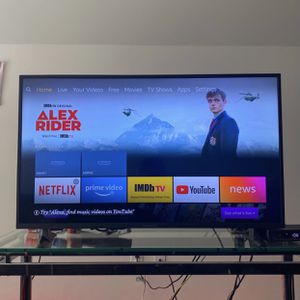 """Insignia™ - 43"""" Class LED 4K UHD Smart Fire TV Edition TV for Sale in Germantown, MD"""