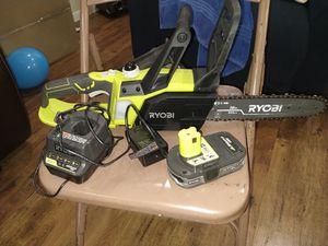 Ryobi 18v chainsaw kit for Sale in San Antonio, TX