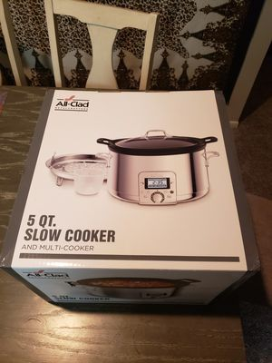 All-Clad 5qt Slow Cooker for Sale in Greenwood Village, CO
