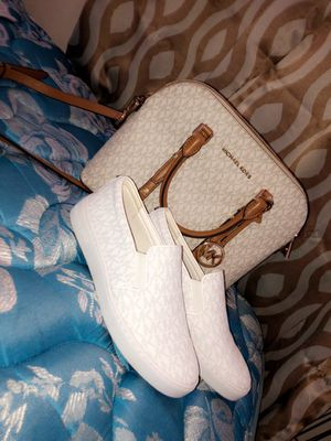 Michael Kors purse Michael Kors shoes size 7 for Sale in Columbus, OH
