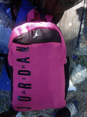 Hot pink jordan backpack for Sale in Houston, TX