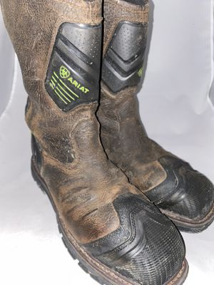 Men Preowned Ariat Work Steel Toe Boot Size 12 for Sale in San Diego, CA