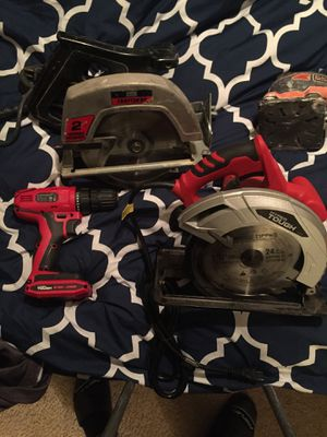 Craftsman, hyper tough , Wagner , Black&Decker power tools for Sale in Houston, TX