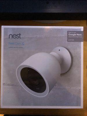 Nest IQ Outdoor Camera for Sale in Woodbridge Township, NJ
