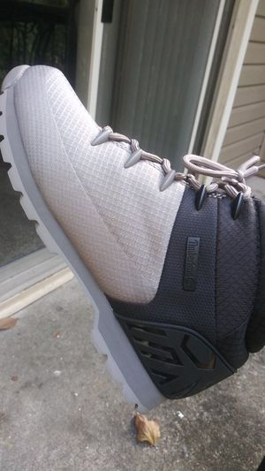 Blk/gray euro hiker timberlands 12 mens for Sale in Durham, NC