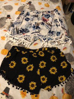 Small summer shorts floral for Sale in Plant City, FL