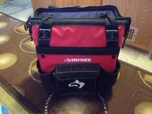 HUSKY TOOL BAG ON WHEELS for Sale in Sumner, WA