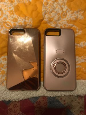 iphone 7 /8 plus light up cases for Sale in North Little Rock, AR