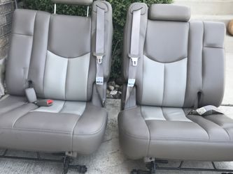 2003 Denali Third Row Leather Seat Set for Sale in Helotes,  TX