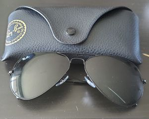 Ray Ban Black Aviators for Sale in Palatine, IL