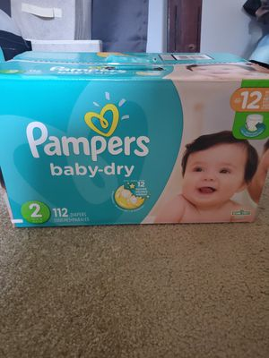 Pampers baby dry for Sale in San Diego, CA