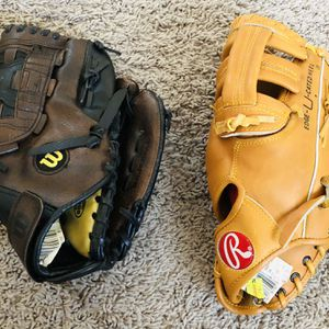 Two Youth Baseball Gloves for Sale in Chandler, AZ