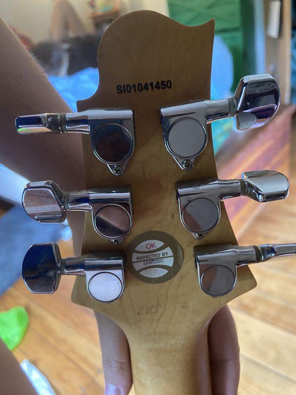Greg Bennett Electric Guitar