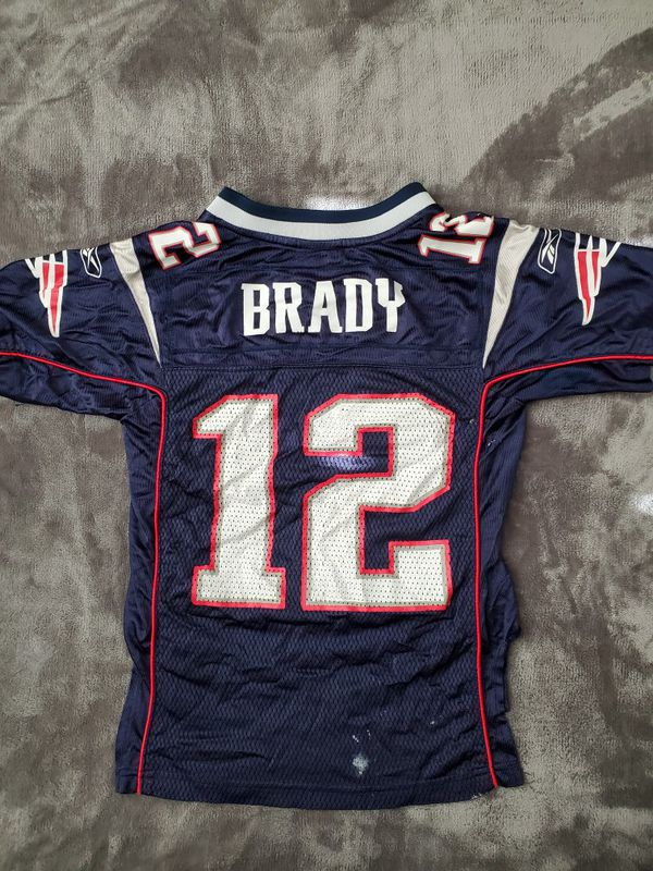 Youth Patriots Brady jersey size 8 small