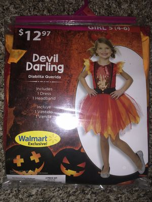 Girls Small - Size 4-6 - Devil Darling Costume for Sale in New Braunfels, TX