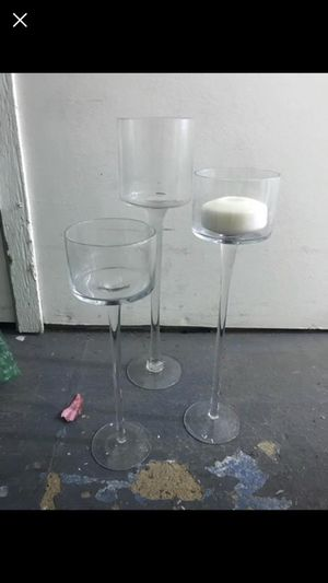 Floating candle holders for Sale in Los Angeles, CA