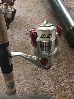 Stern reel blacklashed reel only pole tip missing fishing for Sale in Temple, GA