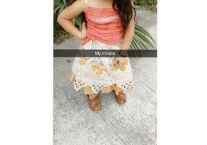Moana costume size5/6 for Sale in Houston, TX