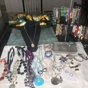 Lot of assorted jewelry 60 pcs for Sale in Manassas, VA