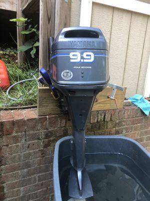 Yamaha boat motor 9.9hp for Sale in Fredericksburg, VA