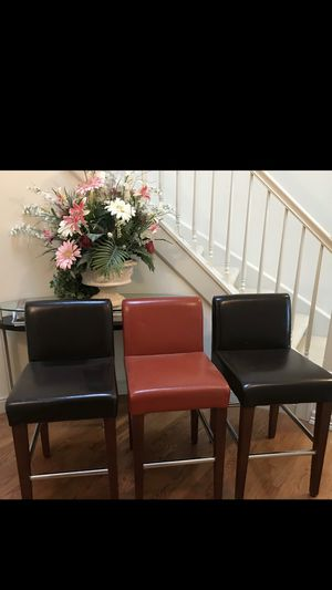 """Kasala bar chairs. 24"""" inch in Height for Sale in Redmond, WA"""