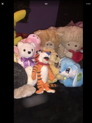 Assortment of stuffed animals $5-$10 each for Sale in Glendale, AZ
